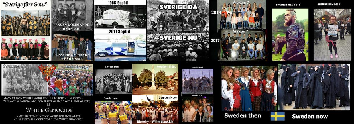 Sweden Then vs. Sweden Now image-macros