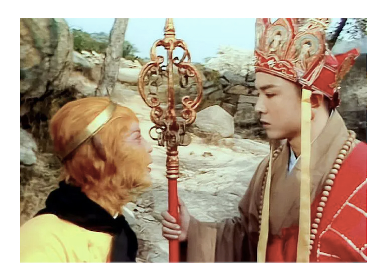Image of the Monkey King from the TV series Journey to the West