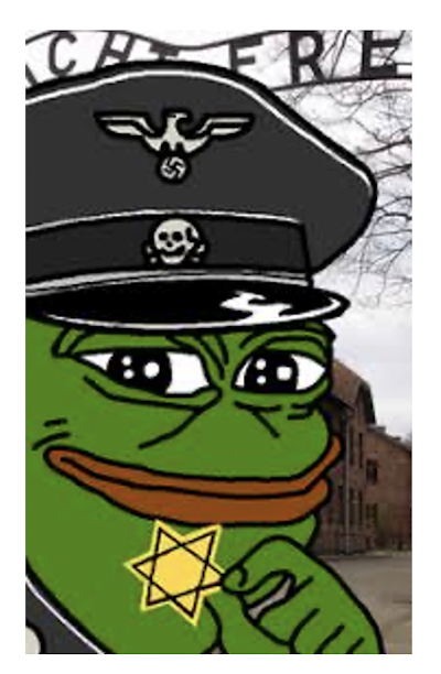 Pepe the Frog memes are often explicitly hateful