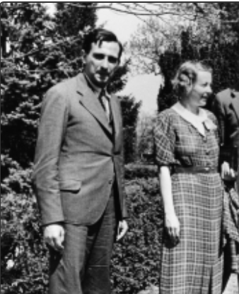 Edward Teller and Maria Goeppert Mayer