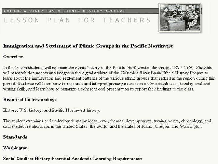 Figure 14: Lesson plans for teachers
