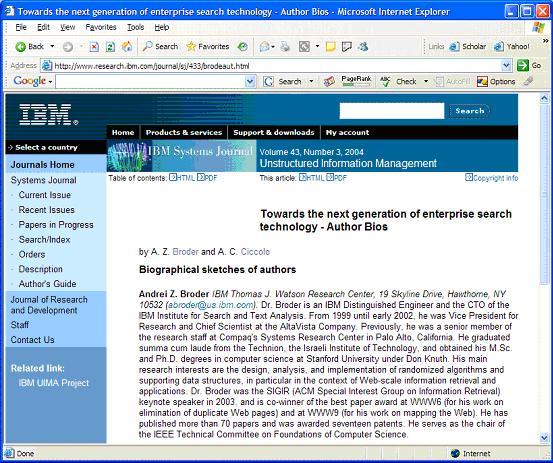 Figure 6: http://www.research.ibm.com/journal/sj/433/brodeaut.html