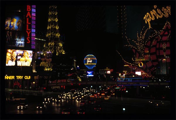 Figure 2: Las Vegas Boulevard, Las Vegas: sophisticated forms of electric lighting
