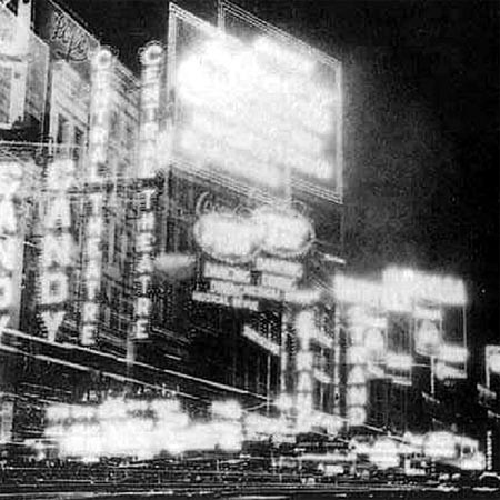 Figure 4: Photograph of Broadway, New York, 1924 Photograph Fritz Lang
