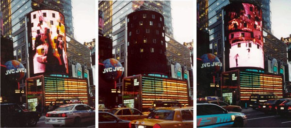 The NASDAQ building, transformation of space perception through time