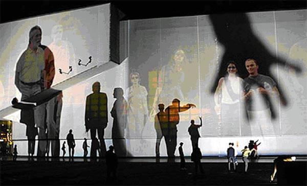 Body Movies: Co-presence of two realities (source: Arie Kievit)