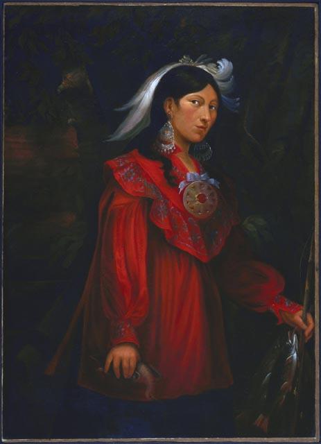 Figure 3: Josephte Ourne, by Joseph Legare