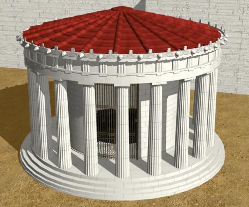 Figure 1: The tholos temple of Athena Pronaia