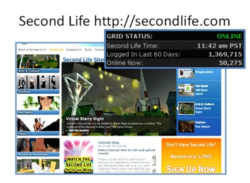 Figure 1: Second Life
