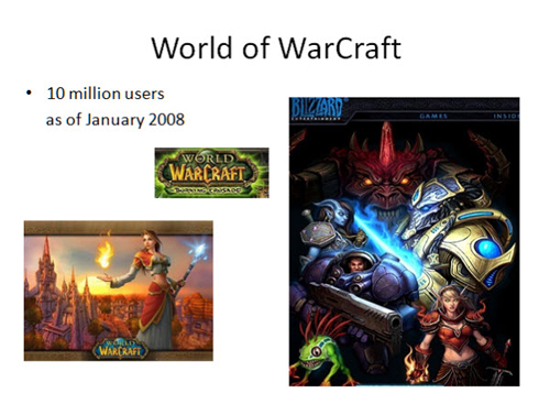Figure 2: World of Warcraft