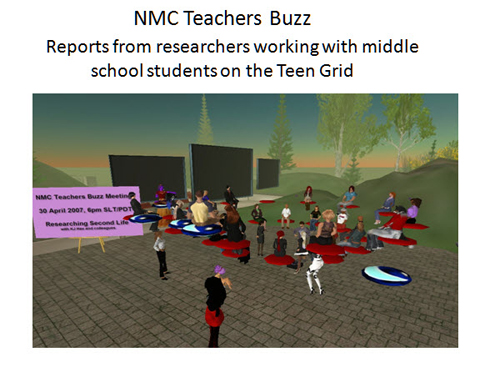 Figure 7: NMC Teachers Buzz