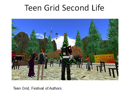 Figure 15: Teen Grid Second Life