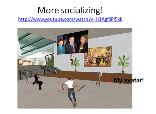 Figure 23: More socializing