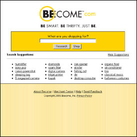 Figure 1a: Become.com, 2005-2006