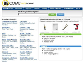 Figure 1b: Become.com, 2007