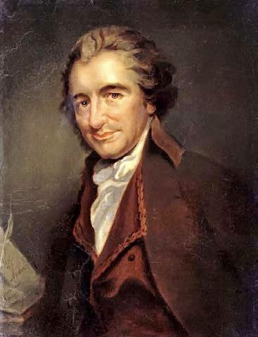 Figure 3: oil portrait of Thomas Paine