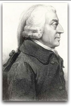 Figure 7: etching of Adam Smith