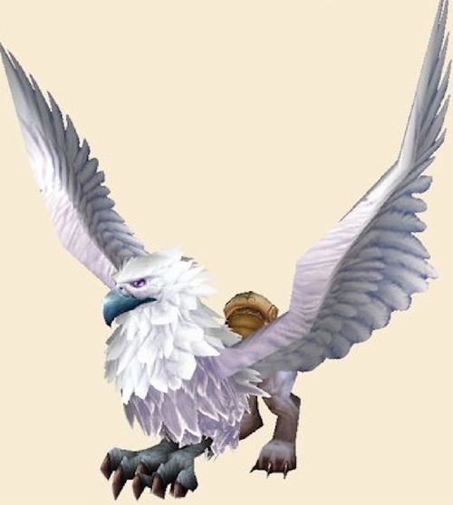 Figure 1: Flying mount in World of Warcraft