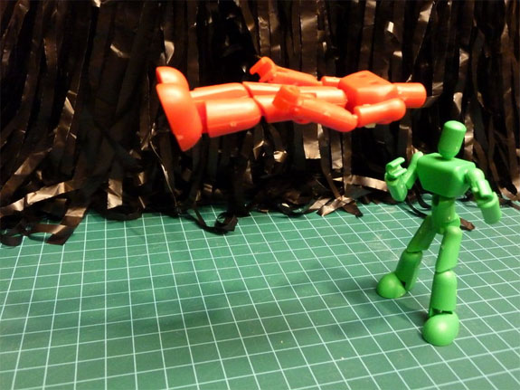 Using 3D printing to visualize problems that are difficult to picture virtually