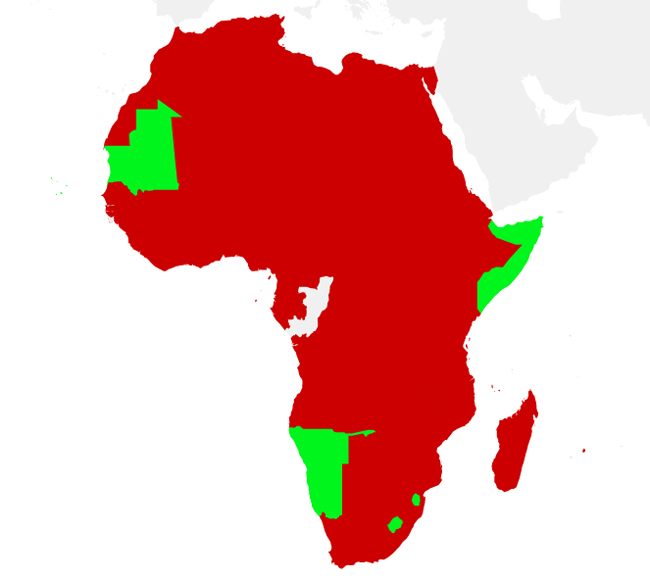 SIM registration in Africa