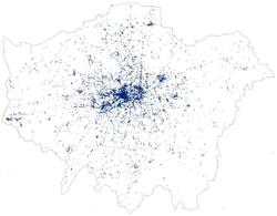 Italian London tweets
