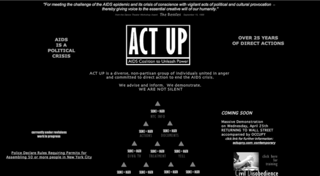 List of ACT UP chapters