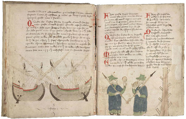 A merchant's commonplace book, dating from 1312