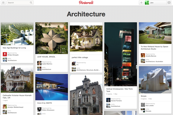Like all social media, Pinterest deals with sharing and discovering information