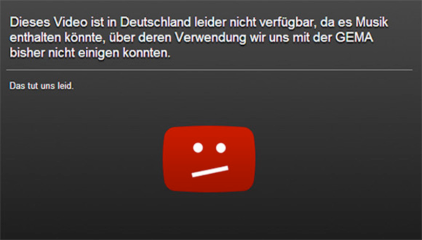 This video is not available in Germany\