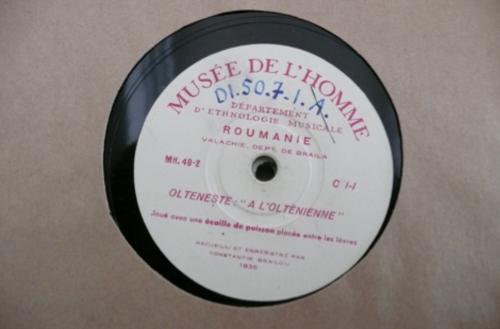 78 rpm recording of Romanian music