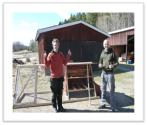 Building a chicken house