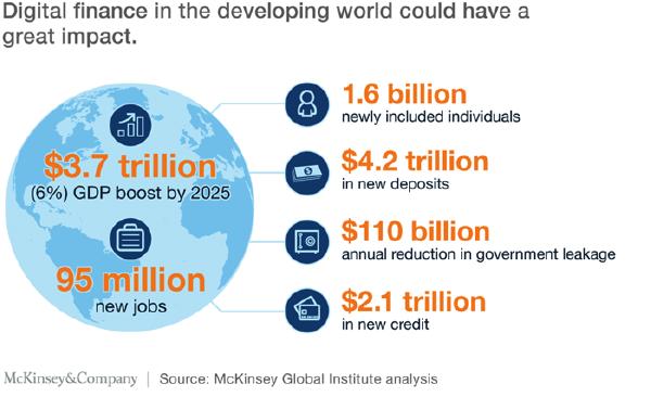 Digitising the developing world