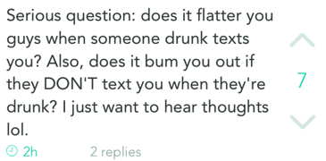 Relationship questions on Yik Yak