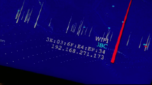 CSI: Cyber, episode Legacy, at the point when the hard drive is located in the room