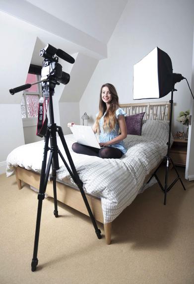 Zoe's filming equipment