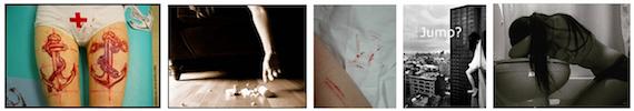 Representations of self-harm practices