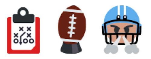 Hashflags for #blitz, #kickoff, and #sack (2016)