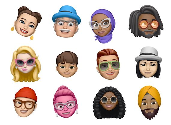 Apple's memoji characters