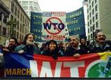 Protesters in Seattle-Dec 1999