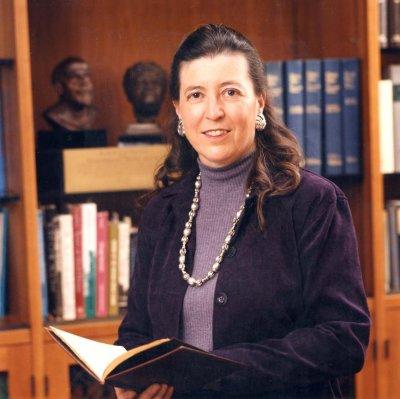 SHARON HOGAN, 1945-2002, University Librarian 1990-2002