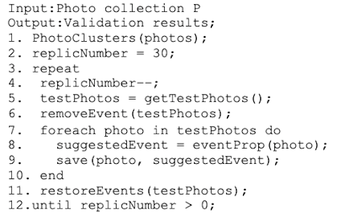 Event propagation validation