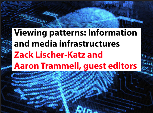 Viewing patterns: Studying information/iteration/incarnation in media infrastructures